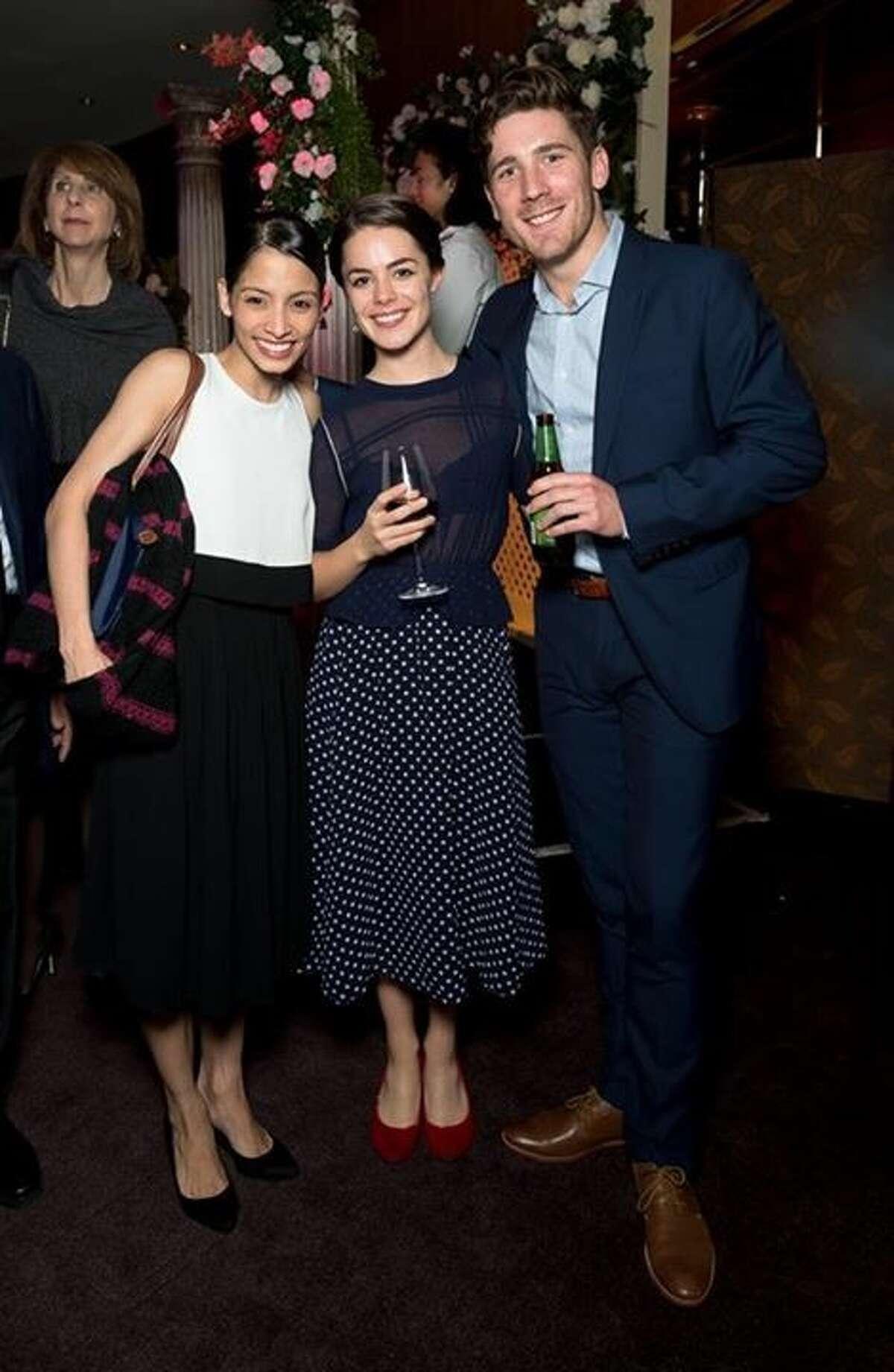 Karina Gonzales, Eloise Fryer and Joseph Chapman