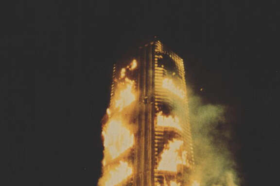 "Starring Steve McQueen and Paul Newman, ""The Towering Inferno"" was one in a firestorm of disaster movies in the '70s."