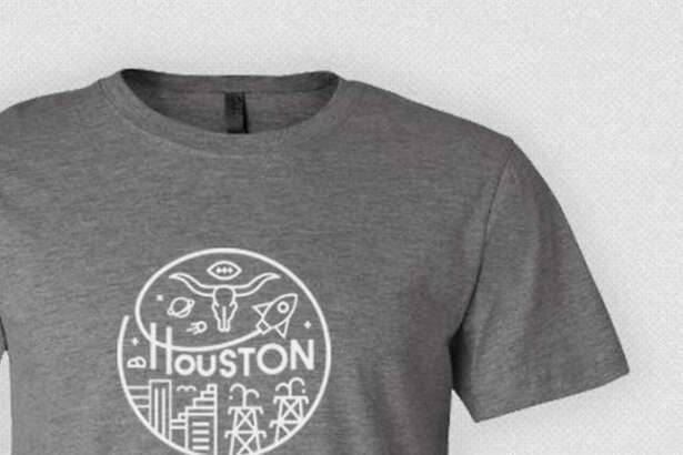 """Kingwood resident Brett Darnell is now offering another new shirt, which he describes as having a """"more Houston-centric"""" design, for a minimum donation of $30, all of which will go to Big Brothers Big Sister Houston.   Source: www.bbbsdonate.co/"""