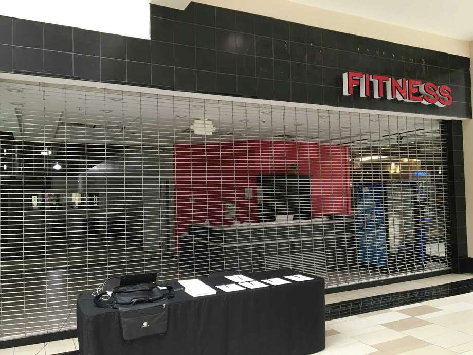 The shuttered location of the Ultimate Fitness Center at Crossgates Mall on Friday, July 1, 2016. (Nicholas Bogel-Burroughs / Times Union)