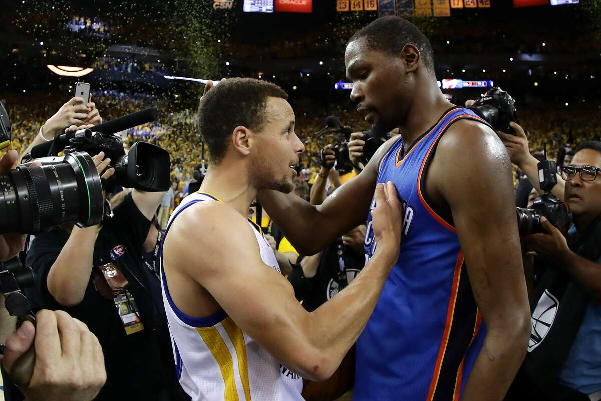 Kevin Durant's decision to join forces with Stephen Curry and the Warriors makes for one of the more memorable free-agent moves in NBA history. Click through the gallery to revisit other free-agent signings and how those players fared.