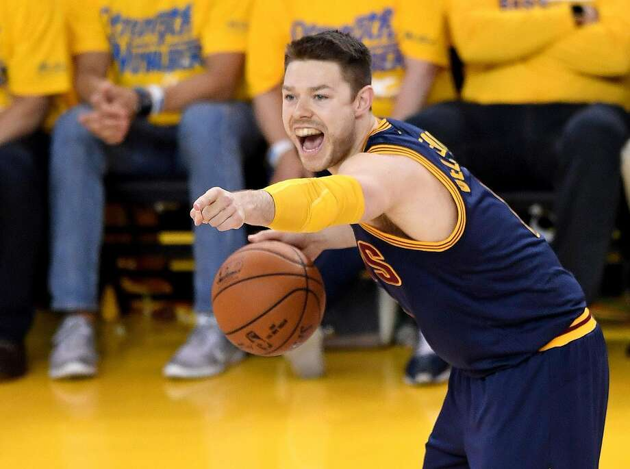 Matthew Dellavedova agreed to a four-year, $38.4 million offer sheet with the Bucks. Will the Cavaliers match it? Photo: Thearon W. Henderson, Getty Images
