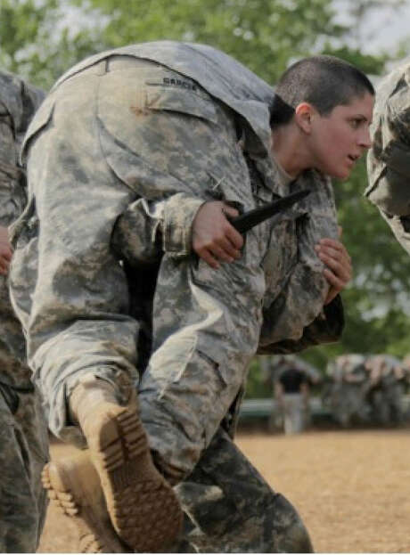 In the U.S., of the roughly 22 million Americans with military experience, one-tenth of them are women, and women comprise more than 14 percent of individuals actively serving. (Washington Post) Photo: Spc. Nikayla Shodeen / U.S. Army, STR / Connecticut Post Contributed