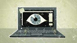 Hackers can use malware to remotely hijack laptops and activate the built-in webcams. Motives of the hackers vary. Some are Peeping Toms. Others are extortionists. Still others lurk to obtain information or images that they can sell on the underground global market.
