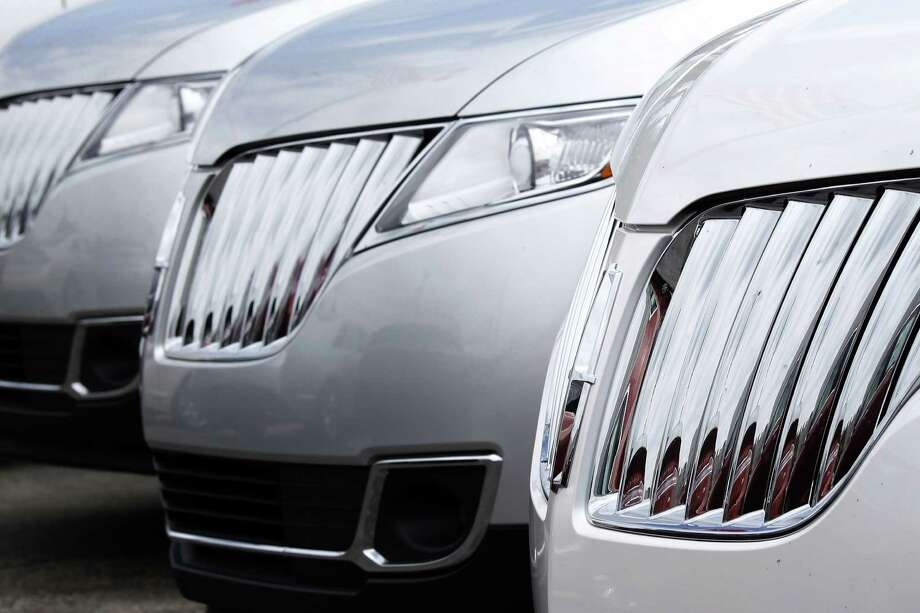 After six straight years of growth - and record sales of 17.5 million last year- U.S. auto sales are beginning to plateau.  Photo: Keith Srakocic, STF / AP2014