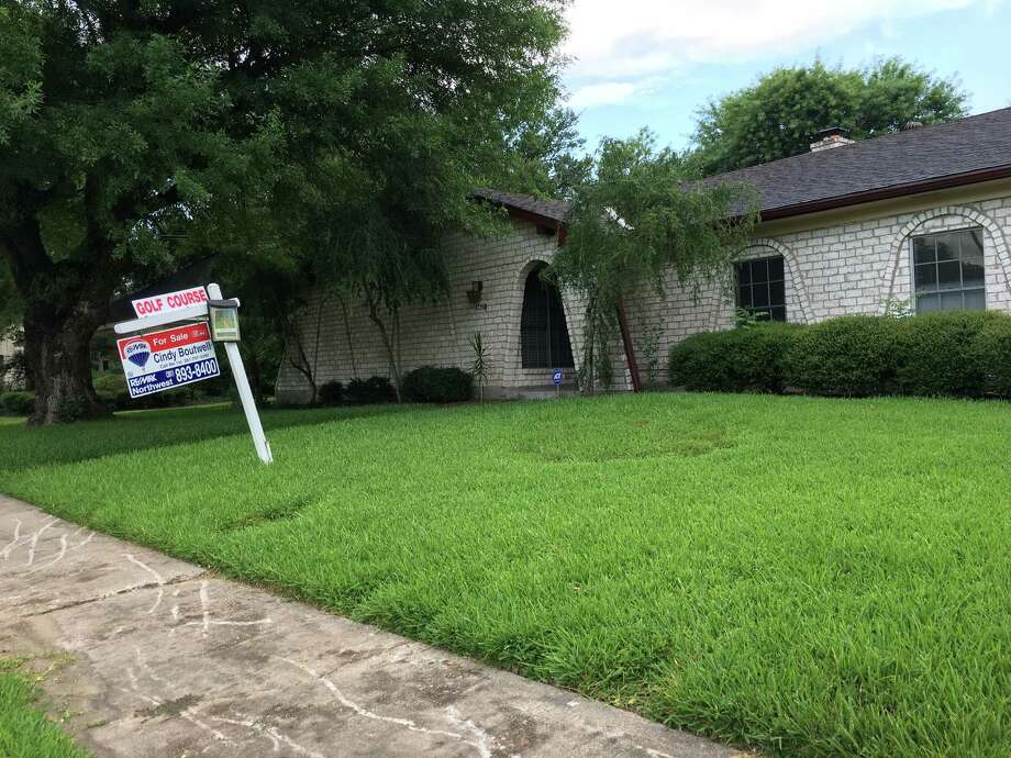 A house on a golf course is for sale in Sharpstown. The community has post-war bungalows, traditional ranches and midcentury moderns.