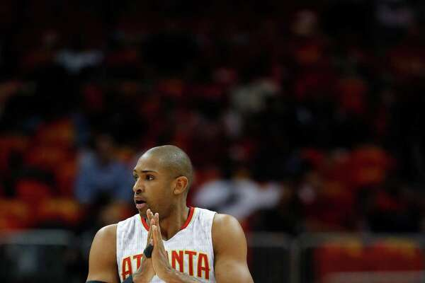 Hawks center Al Horford is also the center of the Rockets' attention.