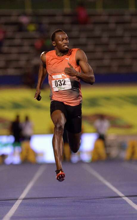 Usain Bolt's pursuit of a third consecutive Olympics is in doubt after departing from Jamaica's national championships injured. Photo: RICARDO MAKYN, Stringer / AFP or licensors