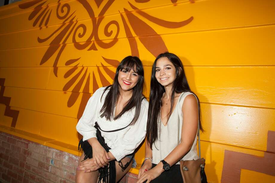 Patrons packed The Squeezebox Friday night, July 1, 2016, for the cantina's grand opening. Photo: By Fabian Villa, For MySA.com