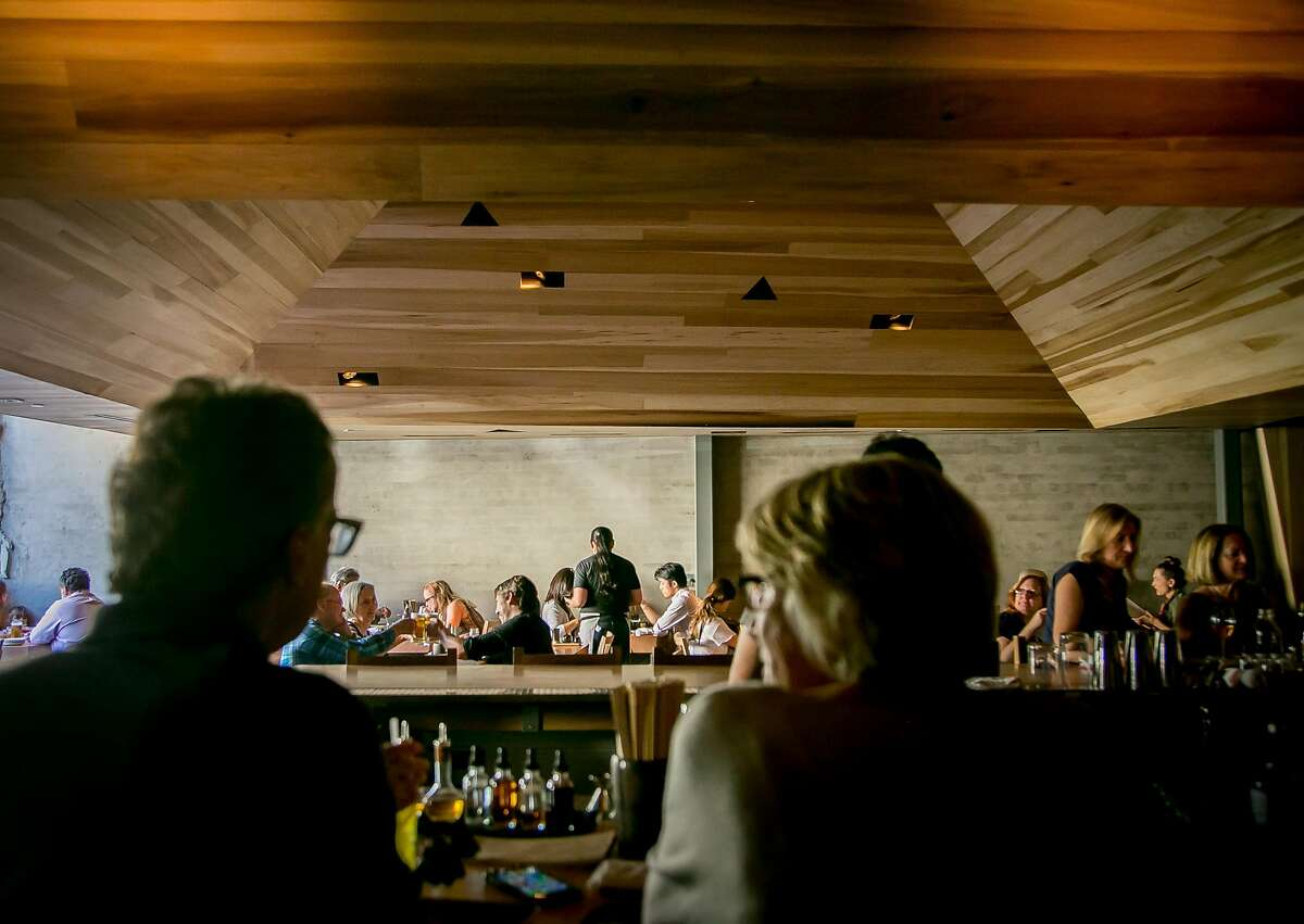 The interior of Miminashi in Napa, Calif. is seen on June 30th, 2016.