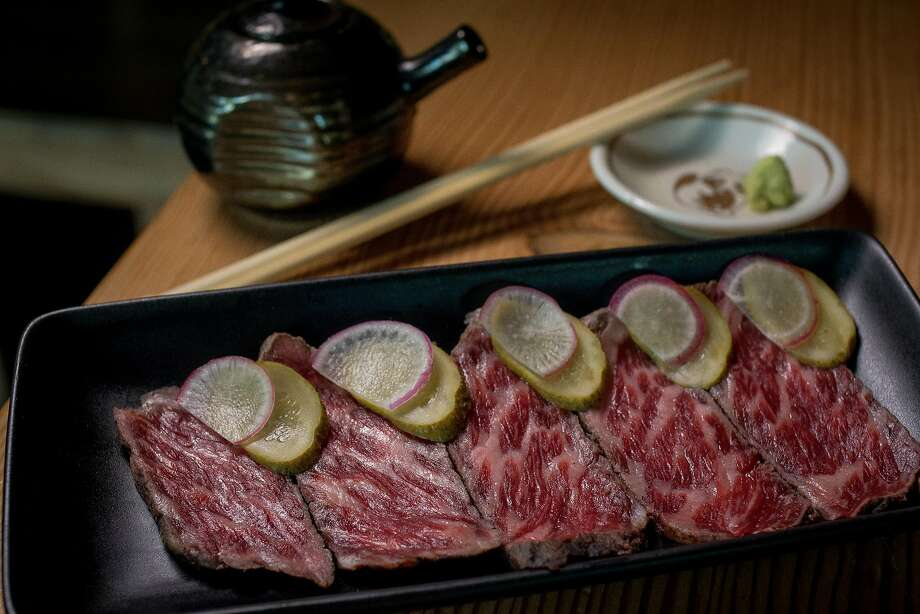 The Beef Tataki at Miminashi in Napa, Calif. is seen on June 30th, 2016. Photo: John Storey, Special To The Chronicle