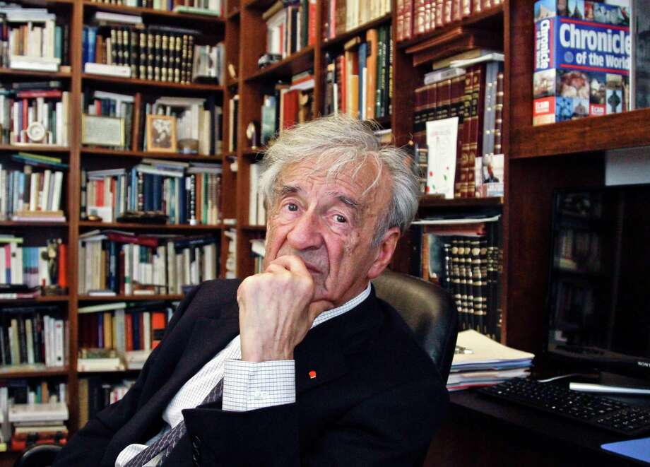 "Elie Wiesel was the author of more than 40 books, none more acclaimed than his first, ""Night."" Photo: Bebeto Matthews / Bebeto Matthews / Associated Press 2012 / AP2012"