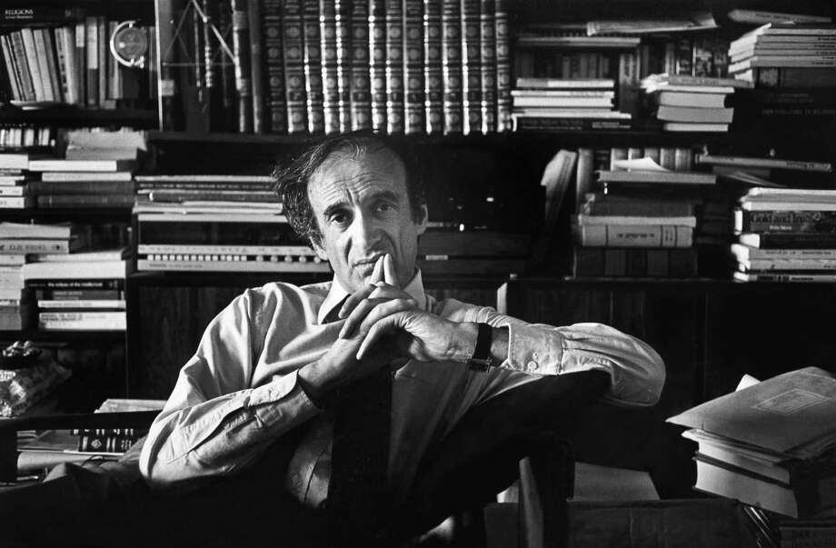 FILE -- Elie Wiesel, the Holocaust survivor, author and Nobel Peace Prize laureate, at home in New York, March 29, 1981. Wiesel, whose writings including ONightO did as much as anyone to sear the memory of the Holocaust on the worldOs conscience, died at home in Manhattan on July 2, 2016. He was 87. (Jim Wilson/The New York Times) ORG XMIT: XNYT74 Photo: JIM WILSON / NYTNS
