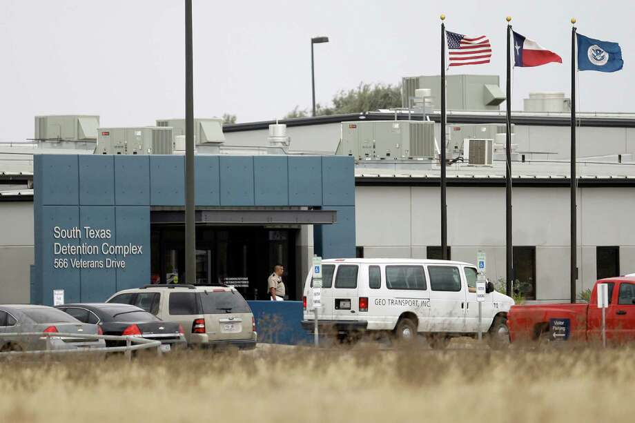 Syrian Maissoun Hanaa Halawi has been detained at the South Texas Detention Center in Pearsall since December and could remain there indefinitely as she awaits a decision on asylum.  Photo: Eric Gay, STF / AP