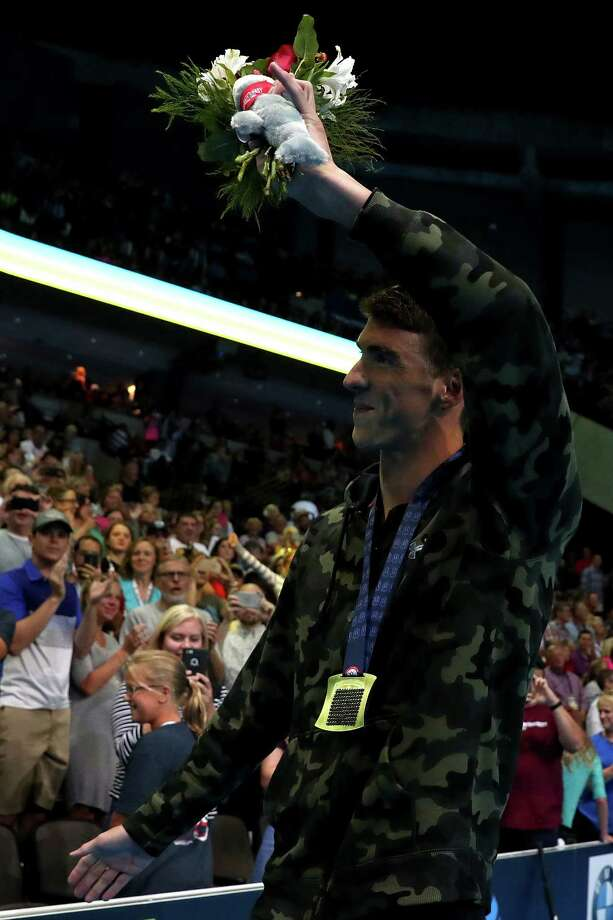 It took Michael Phelps a lap to get going, reaching the halfway point of the 100-meter butterfly in fourth Saturday, but by the end he was on top. Photo: Tom Pennington, Staff / 2016 Getty Images