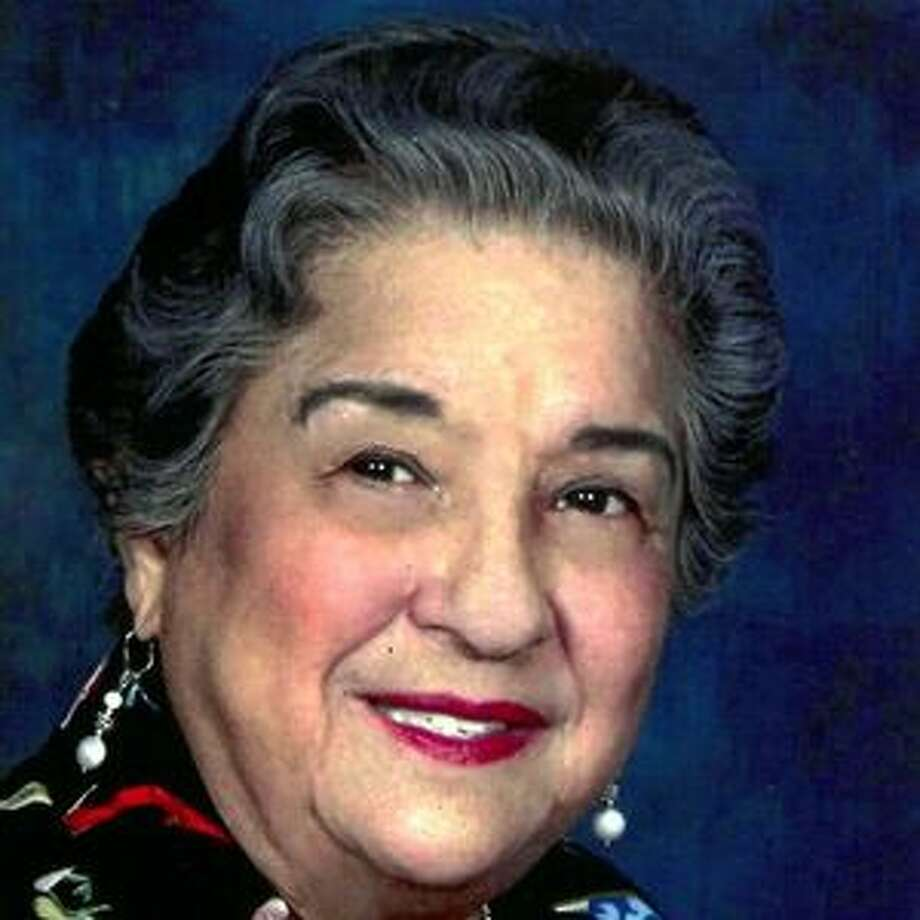 Melida De La Garza Gonzalez died June 24 on her 71st wedding anniversary. She was 91. Photo: Courtesy
