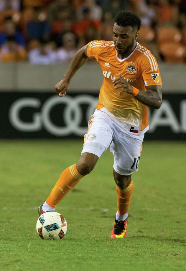 The Dynamo on Saturday night traded Barnes, this season's opening day captain, to Vancouver Whitecaps FC in exchange for general allocation money and the first refusal rights to Costa Rican defender Keyner Brown. Photo: Juan DeLeon, For The Chronicle / Houston Chronicle