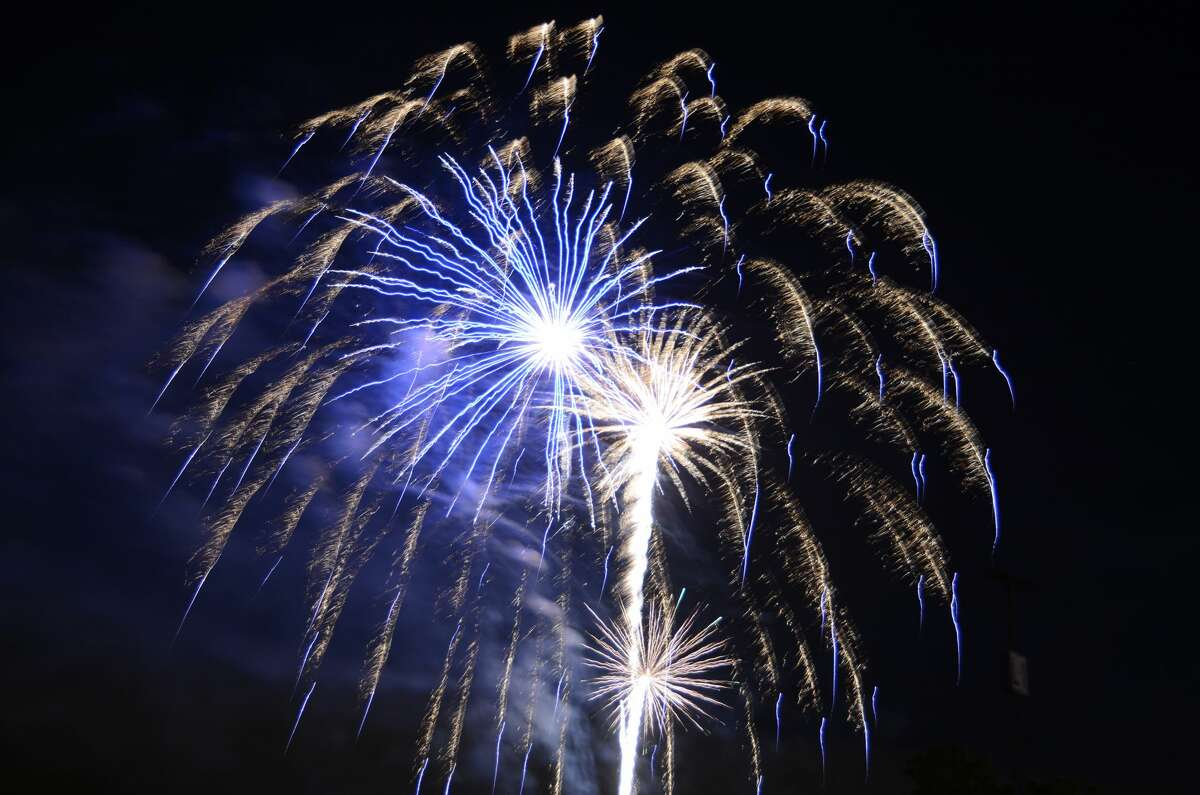 Click through the slideshow to see where to find fireworks across Connecticut.