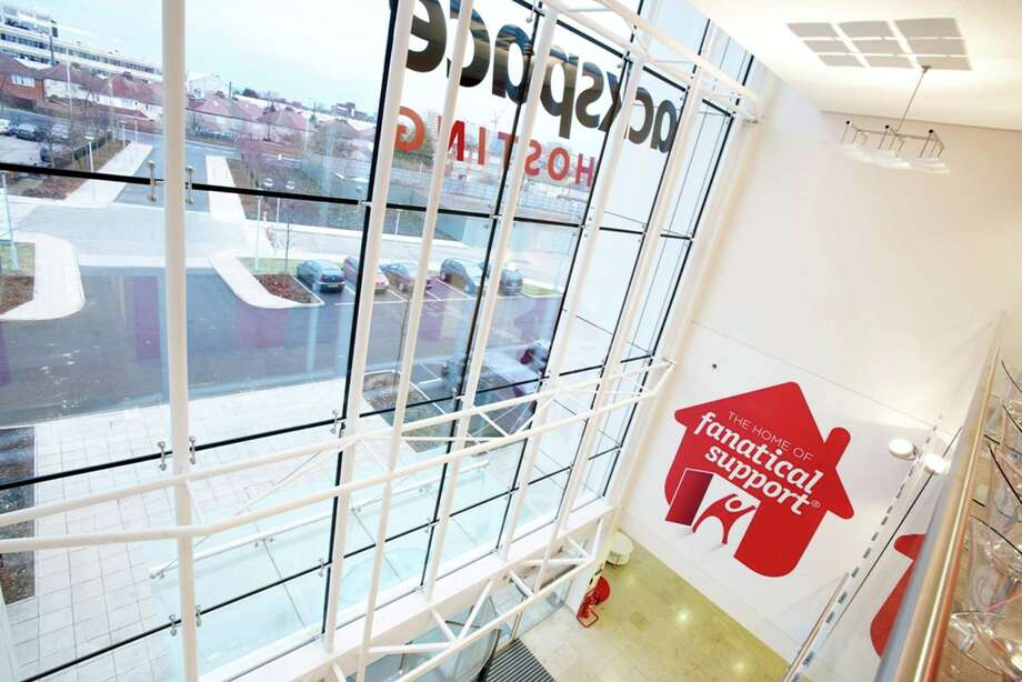 Companies such as Alphabet Inc., Amazon.com Inc., Apple Inc., Facebook Inc. and San Antonio-based Rackspace Hosting Inc. all have built large offices in the U.K. Rackspace's office is in London. Photo: Rackspace Hosting Inc.