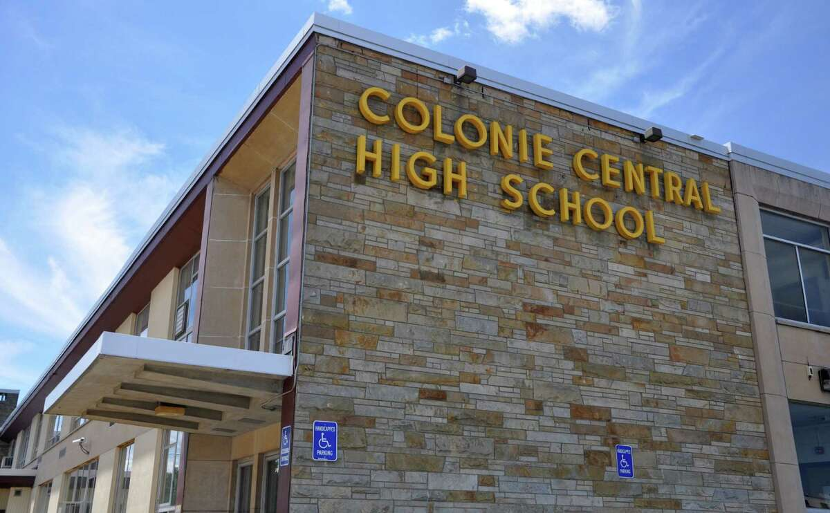 Exterior of Colonie Central High School on Thursday, June 30, 2016 in Colonie, N.Y. (Eliza Mineaux/Special to the Times Union)