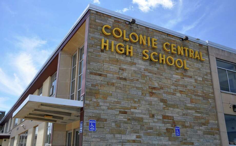 Exterior of Colonie Central High School on Thursday, June 30, 2016 in Colonie, N.Y. (Eliza Mineaux/Special to the Times Union) Photo: Eliza Mineaux / 20037189A