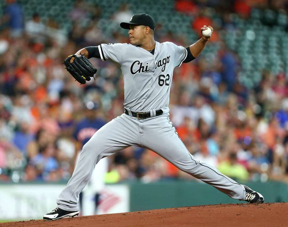 Chicago White Sox starting pitcher Jose Quintana (62) pitches during the first inning of an MLB game at Minute Maid Park, Sunday, July 3, 2016, in Houston.  ( Jon Shapley / Houston Chronicle ) Photo: Jon Shapley, Staff / © 2015  Houston Chronicle