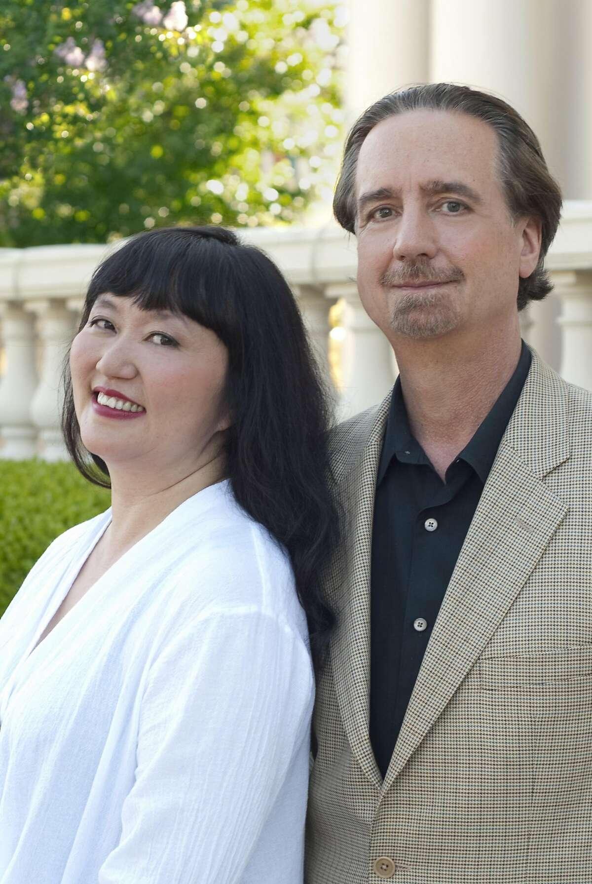 Wu Han (l.) and David Finckel