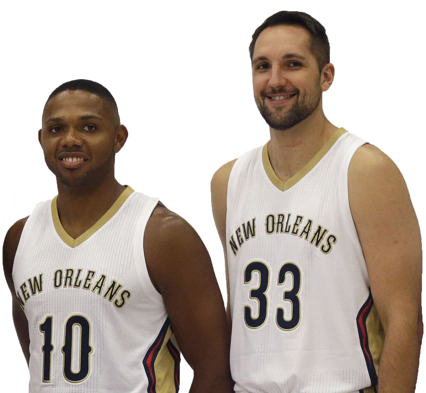 Ryan Anderson Eric Gordon Ready For Homecoming In New