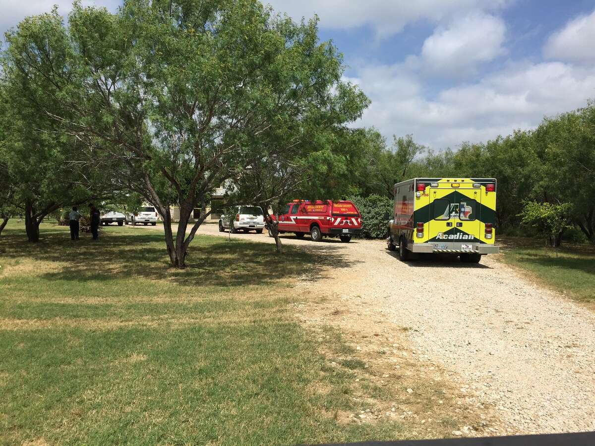 Bexar Sheriff's Office said an abandoned vehicle led them to the home and a body in Southwest Bexar County about 7 a.m. Sunday, July 3, 2016.