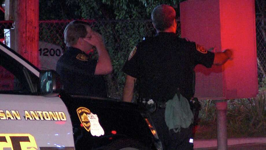 Two were sent to the hospital in stable condition following a drive by shooting on the East side. Photo: Ken Branca