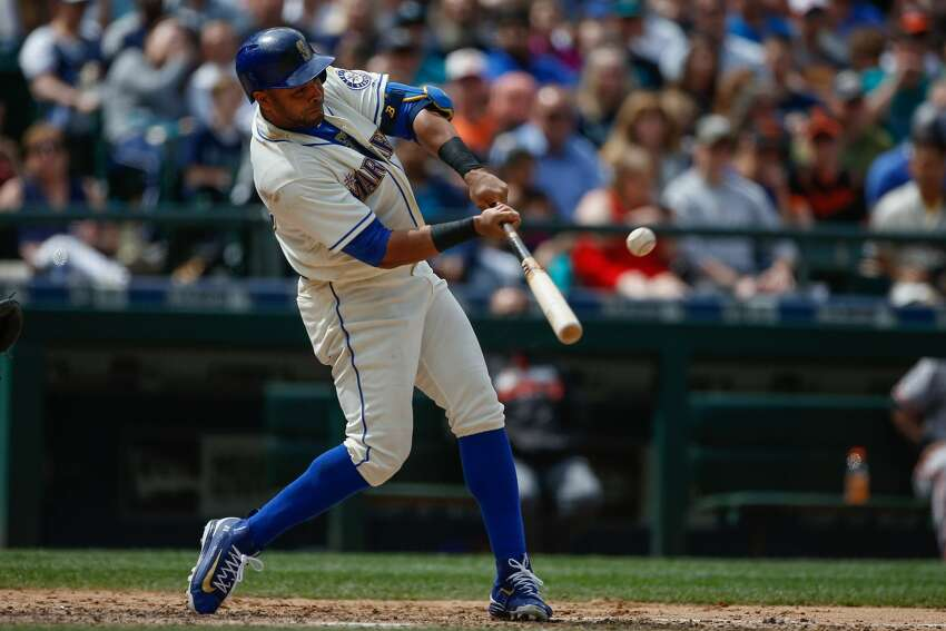 DH/OF Nelson Cruz: (A) Cruz's production was expected to drop off after a stellar first season with the Mariners, but he's instead quietly hit 23 homers and drove in 58 runs while posting a .280 batting average through his first 87 games. He'll need a big second half if Seattle is going to have a shot at breaking a 15-year postseason drought that's the longest in the major leagues.
