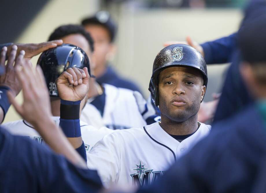 2B Robinson Cano: (A+)Cano quickly squashed former coach Andy Van Slyke's offseason criticism by earning his seventh All-Star selection in his best first-half since joining the Mariners. The club rightfully asks a lot of the 33-year-old, and he's responded by posting a 4.6 WAR (wins-above-replacement) in 89 games thanks mostly to a .313/.368/.555 slash line to go along with 21 homers and 58 RBIs. Photo: Stephen Brashear/Getty Images