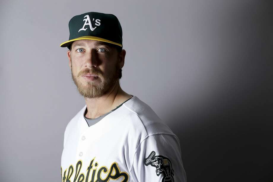 This is a 2016 photo of Patrick Schuster of the Oakland Athletics baseball team. This image reflects the Oakland Athletics active roster as of Monday, Feb. 29, 2016, when this image was taken. (AP Photo/Chris Carlson) Photo: Chris Carlson, AP