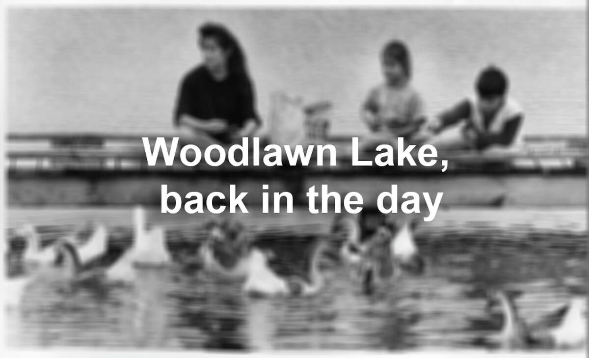 Woodlawn Lake has long been a favorite of San Antonio summer weekends. Check out these archive photos from back in the day.