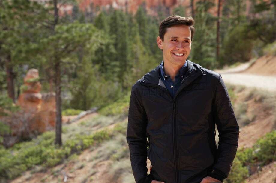 Conor Knighton, shown at Bryce Canyon National Park, is spending time in each of the 59 national parks. Photo: Efrain Robles, HONS / CBS