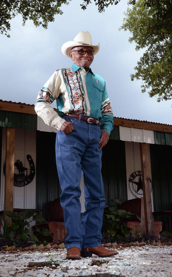 Floyd Frank, 97, of Cheek will be inducted into the National Multicultural Western Heritage Museum Hall of Fame later this month in Fort Worth. Photo taken Friday, July 01, 2016 Guiseppe Barranco/The Enterprise Photo: Guiseppe Barranco, Photo Editor