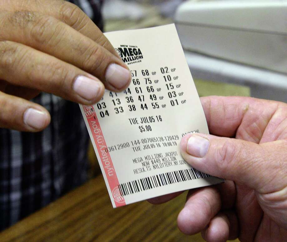 Coulson's News Center sells another Mega Millions ticket at Newton Plaza Tuesday July 5, 2016 in Colonie, NY.  (John Carl D'Annibale / Times Union) Photo: John Carl D'Annibale / 20037225A