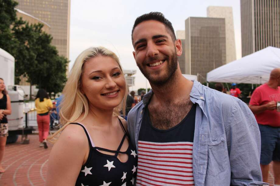 Were you Seen at the New York State's Fourth of July Celebration presented by Price Chopper and Market 32 at the Empire State Plaza in Albany on Monday, July 4, 2016? Photo: Jasmine Robinson