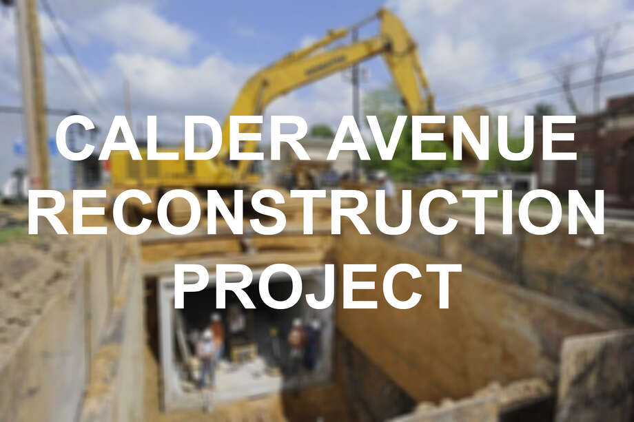 Take a look at the work it took to revamp Calder Avenue in the following slides. Photo: Enterprise File