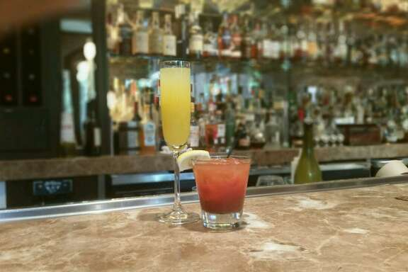 Brennan's of Houston offers 25 Cent Martinis during weekday lunch, 11 a.m. to 2 p.m. (with purchase of an entrée; limit 2 per customer). Recently the restaurant was offering 25 cent mimosas and Bloody Marys at Saturday brunch.That promotion is over but the lunchtime martinis live on.