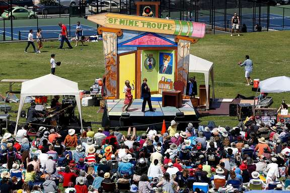 San Francisco Mime Troupe in 2016; singled out by Breitbart