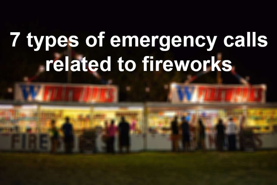The San Antonio Fire Department fielded 28 emergency calls possibly related to fireworks on July 4, 2016. Click ahead to the most commonly reported emergency. Photo: SAFD/ San Antonio Express-News