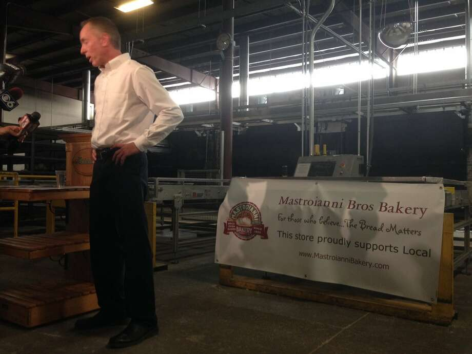 Warren Zeiser, CEO of Mastroianni Brothers Bakery, discusses the closing of the Rotterdam bakery on Tuesday, July 5, 2016. (Paul Buckowski/Times Union)