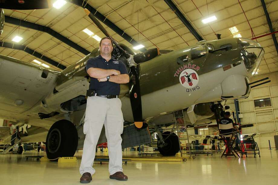 Lone Star Flight Museum president Larry Gregory. Photo: Pin Lim, Freelance / Copyright Forest Photography, 2015.