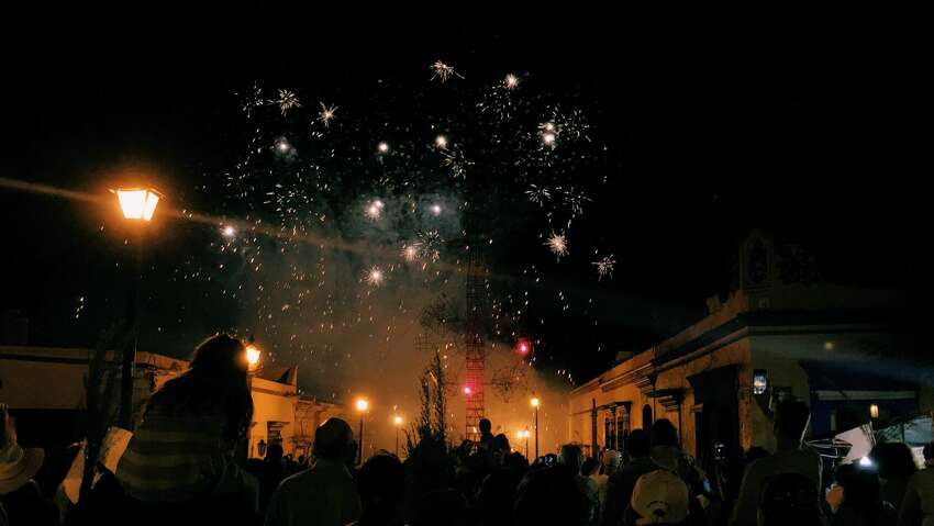 1. A firework explodes in man's face. July 4, 2015: An Indiana man, 41, died during a parking lot fireworks show in front of a crowd of 150 people. When the shell he lit for the grand finale failed to detonate, he checked the tube and the device exploded in his face.