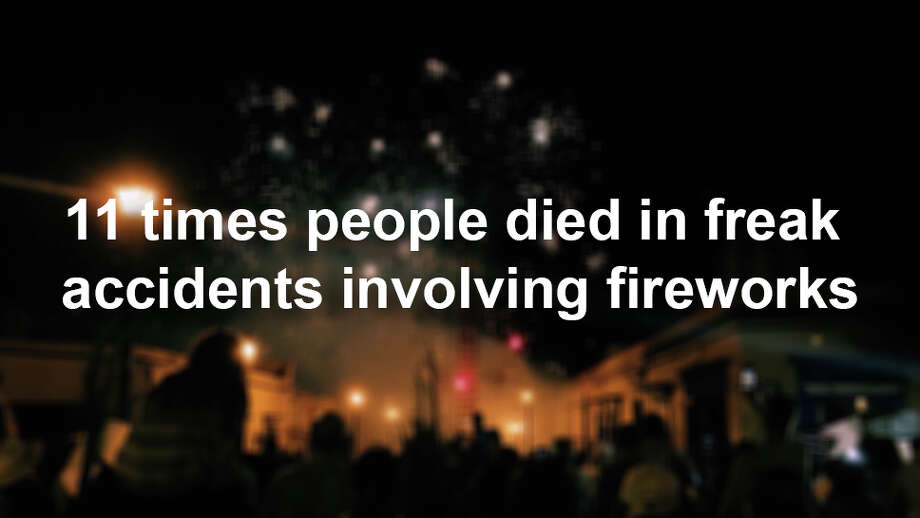 The U.S. Consumer Product Safety Commission has the unfortunate task of recording every incident involving fireworks and bodily harm. Click ahead for to see the fireworks-related incidents that killed Americans in 2015. Photo: Mariana Del Roc?o Hern?ndez Vela/Getty Images/EyeEm