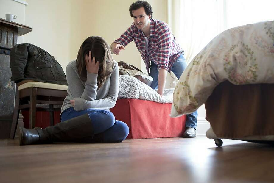 A woman was able to leave an long abusive relationship. Photo: SolStock, Getty Images