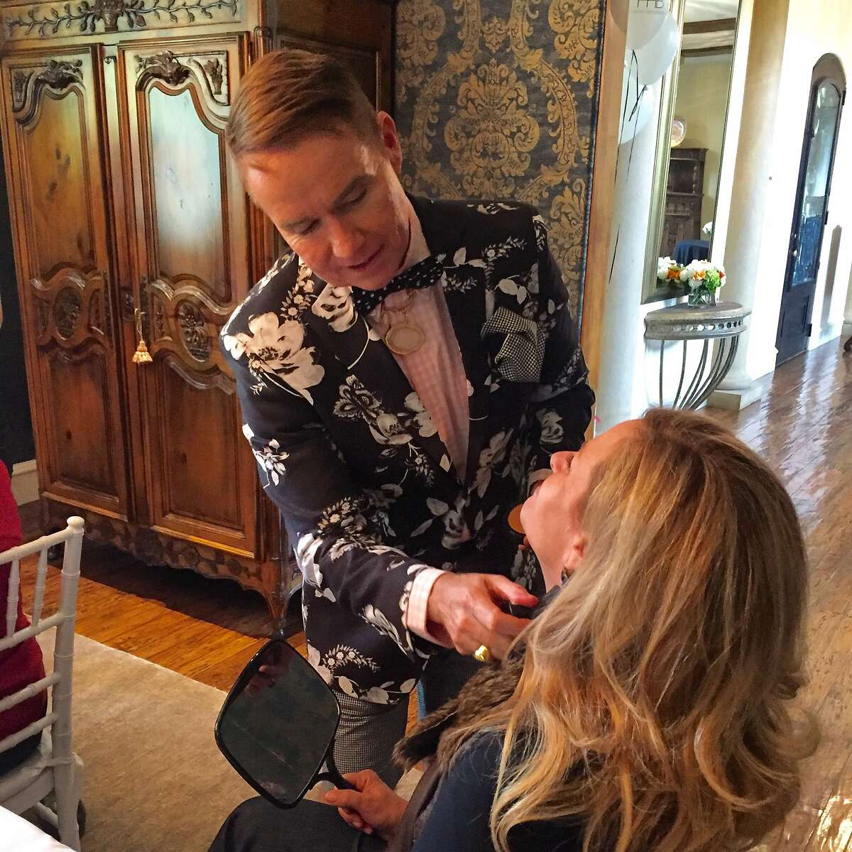 Former Revlon exec, author and Silicon Valley stylist�Harvey�Helms introduces�Harvey�Helms Beauty, a cosmetics company with paraben-free and cruelty-free products sold online. He launched at the home of a Silicon Valley executive in May.