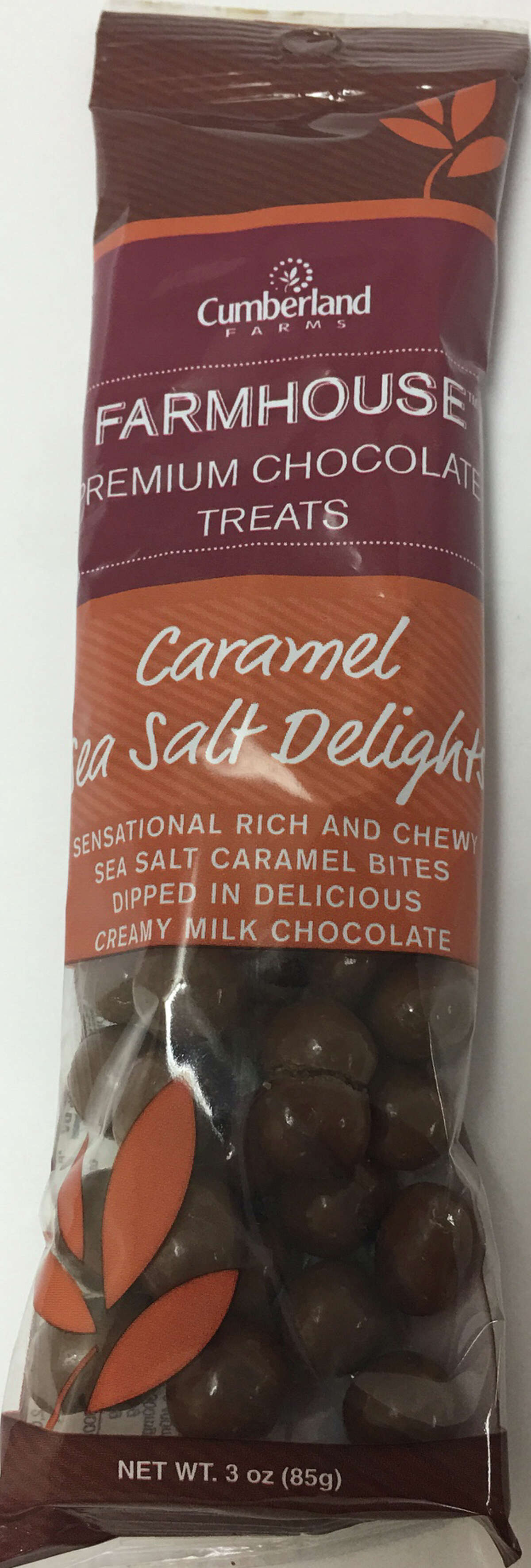 Cumberland Farms has recalled the Sea Salt Caramel Delights flavor of Cumberland Farms Farmhouse Premium Chocolate Treats due to the possible presence of peanuts. Photo courtesy of the U.S. Food and Drug Administration.