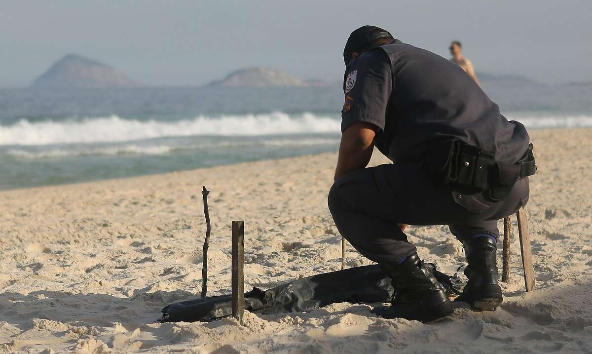 The violence is no empty threat: On June 29, mutilated body parts washed up on Copacabana Beach near the Olympic beach volleyball venue. It is not known how the person died.
